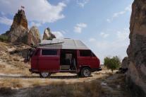 Ariiving in Cappadocia
