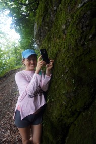 Hiking with Olga
